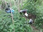 Em Salinas, polícia apreende moto roubada em matagal