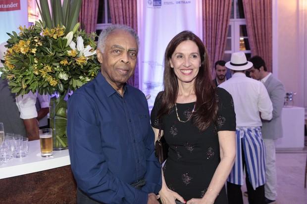 Gilberto e Flora Gil (Foto: Isac Luz/EGO)