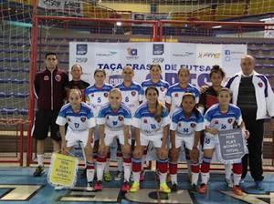 Equipe do Estrela em SC (Foto: Ana Lage/Arquivo Pessoal)