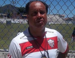 Samuel Batista, técnico do Serra (Foto: Eduardo Dias/VC no GE)
