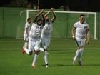 Coruripe empata com o América-RN por 2x2 (Denison Roma / GloboEsporte.com)