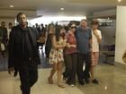 Amigos e familiares vão à cremação da atriz e cineasta Susana Moraes no Rio