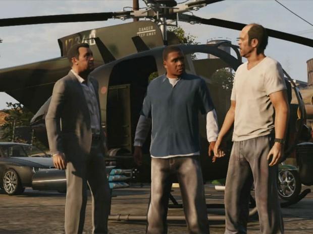 Novo trailer de GTA V (Foto: Reprodução)