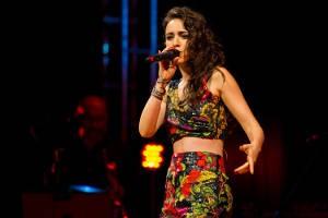 Cantora Roberta Sá faz show em Belém (Foto: Maurício Santana/Divulgação)