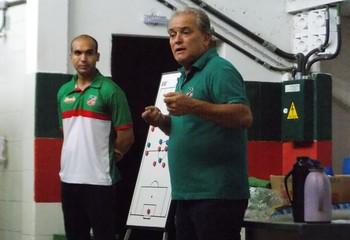 João Vallim, técnico do Velo Clube (Foto: Paulino Mello/Velo Clube)