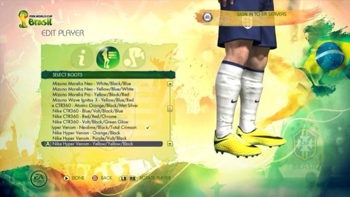 Copa do Mundo Fifa 2014: aprenda a editar jogadores (Foto: Reprodução/Murilo Molina) (Foto: Copa do Mundo Fifa 2014: aprenda a editar jogadores (Foto: Reprodução/Murilo Molina))