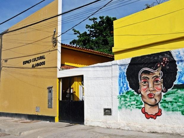 Espaço Cultural dos Alagados, no bairro do Uruguai (Foto: Divulgação)