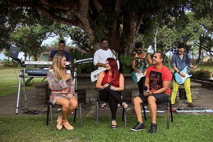 Adalgiza foi a convidada do Levando um Som (Foto: TV Sergipe)