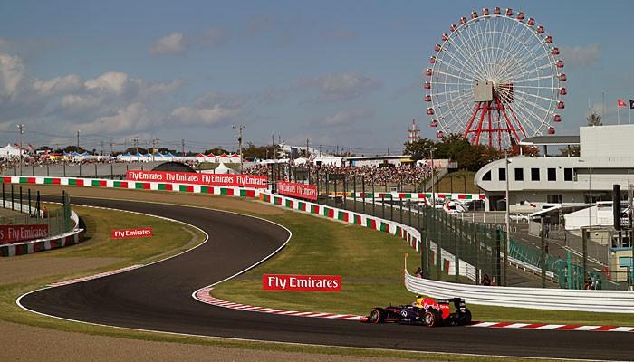 Mark Webber pole GP do Japão