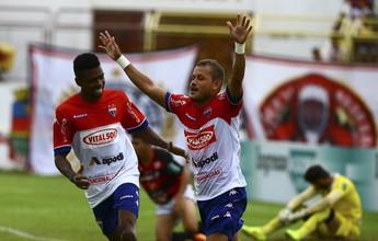 Anselmo brilha, Fortaleza bate o Guarany e tem vantagem no Castelão