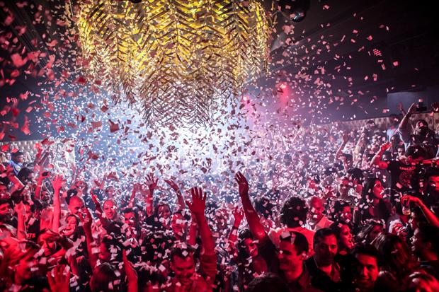 Uma das noites agitadas na Posh Club (Foto: Divulgação)