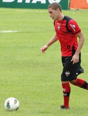 Wesley, atacante do Atlético-GO (Foto: Felipe Furtado/Atlético-GO)