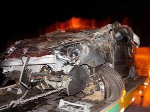 Jornalista da Argentina  morre em acidente em Oliveira (Foto: Marcelo Praxesdes/Divulgaão)