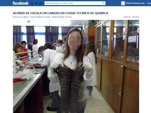 Gatos, Alunos, Canoas (Foto: Reprodução/Facebook)