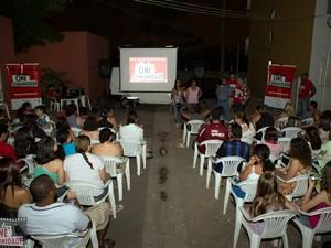 Filme será exibido de graça em bairro em Piracicaba (Foto: Eduardo Marchesan/acervo pessoal)