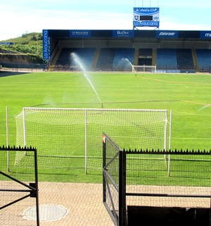estádio do Huachipato, no Chile (Foto: Marcelo Prado)
