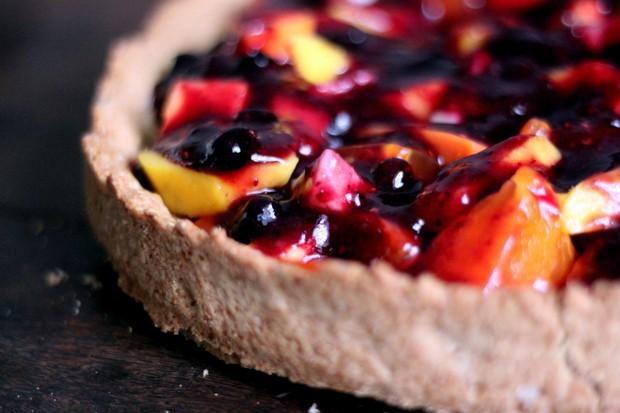 Receita: torta de frutas vermelhas