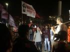 Manifestantes protestam contra o governo Temer em Brasília