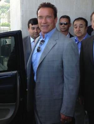 Arnold Schwarzenegger Rio de Janeiro Força Bruta Fisiculturismo (Foto: Amanda Kestelman)