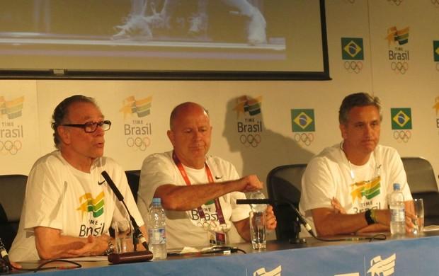 Carlos Arthur Nuzman na Casa Brasil (Foto: Lydia Gismondi / Globoesporte.com)
