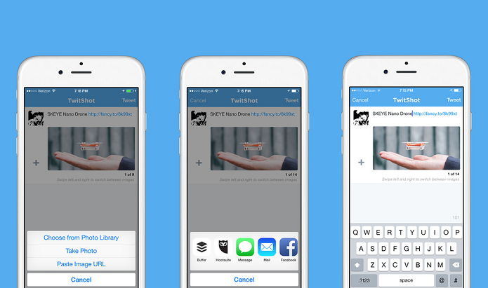 Compartilhe conteúdos com fotos no Twitter usando TwitShot (Foto: Divulgação/AppStore)