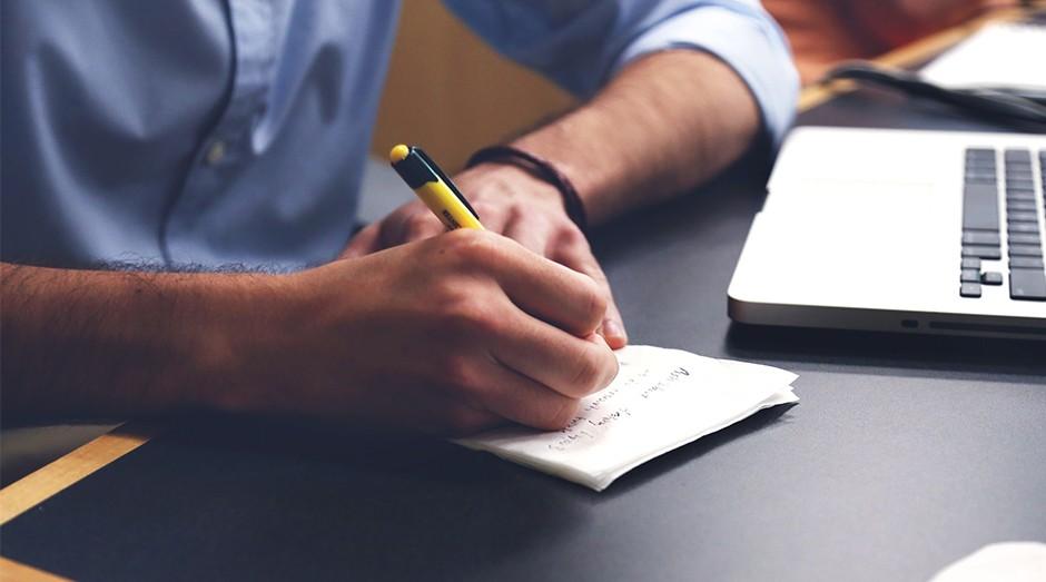startup, anotações, planejamento, cadastro (Foto: Startup Stock Photos)