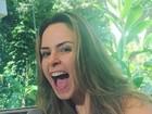 'BBB 16': Ana Paula mostra animação ao voltar ao Rio para o 'Mais Você'