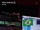 Iggy Azalea mostra prévia de música com Anitta