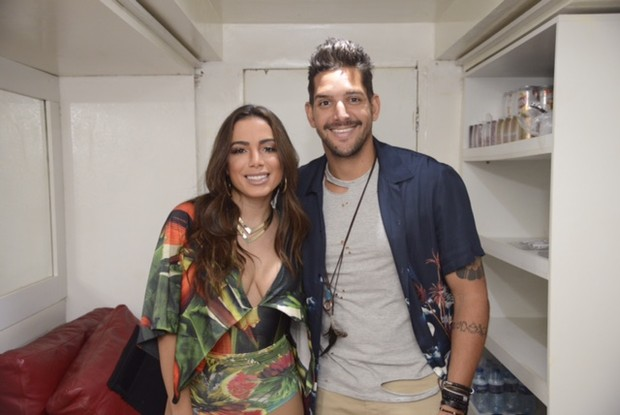 Anitta e Felipe Pezzoni (Foto: Davi Magalhães/ Divulgação)