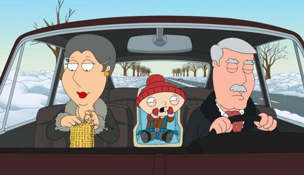 Carter dorme ao volante e causa acidente (Foto: Divulgação/Reprodução)