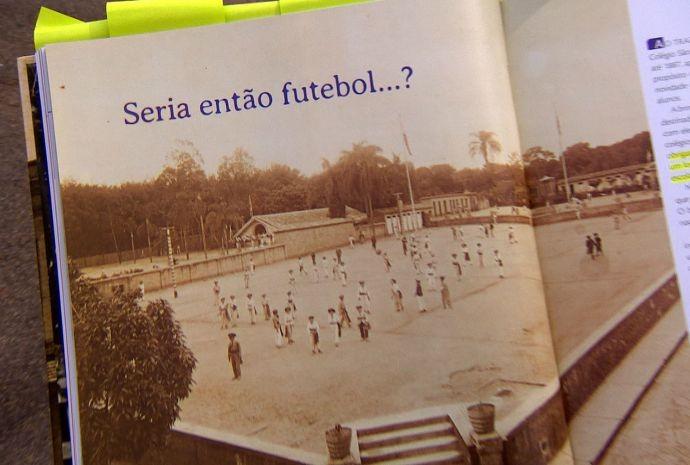 Quartel cede o espaço para uma escolinha de futebol para crianças (Foto: Reprodução / TV TEM)