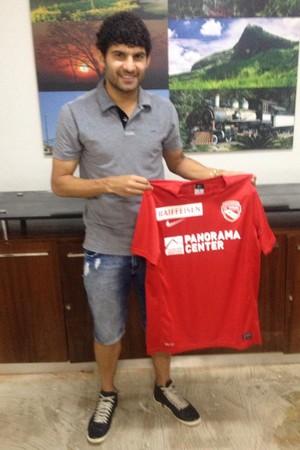 De férias na cidade natal, Cássio jogador do FC Thun da Suíça, analisa carreira (Foto: Wilkson Tarres/Globoesporte)