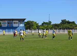Vilhena realiza último amistoso antes da estreia no estadual sub-20 (Foto: Jonatas Boni)