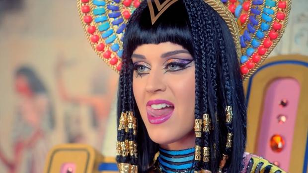 Katy Perry de Cleóprata (Foto: Reprodução)