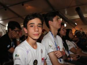 Filipe do Nascimento, de 13 anos. (Foto: Thiago Rios Gomes)