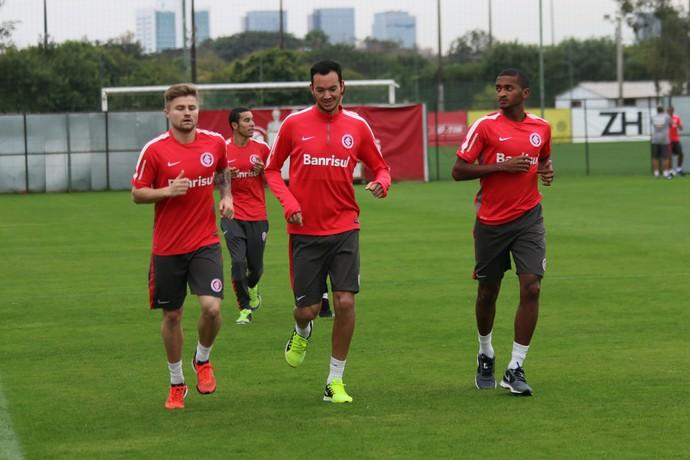 Réver, Artur e Eduardo Sasha inter internacional (Foto: Tomás Hammes/GloboEsporte.com)
