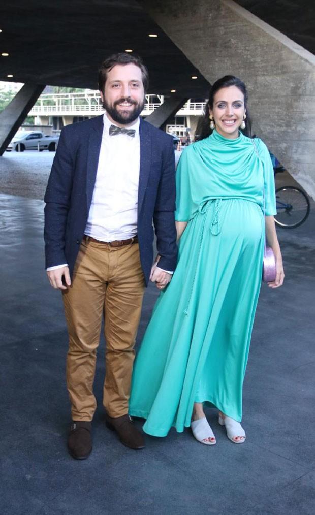 Gregório Duvivier e Giovanna Nader (Foto: AgNews / Daniel Pinheiro)