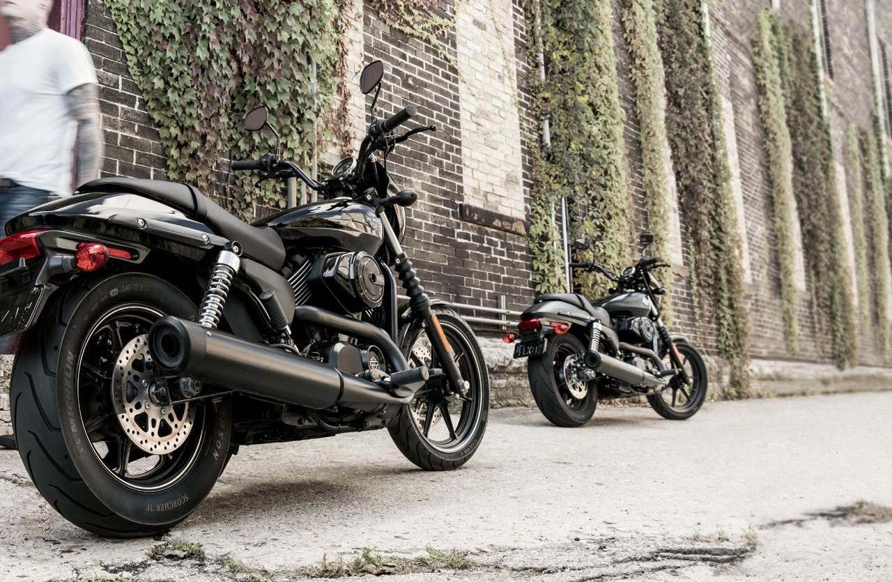 Harley-Davidson Street 500 e 750 (Foto: divulgação)