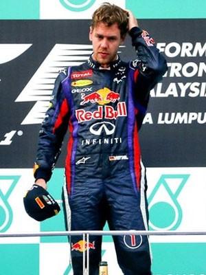 Sebastian Vettel é o primeiro colocado do Mundial (Foto: EFE / Reprodução: Globoesporte.com)