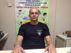 Vigílio Vieira, coordenador do comissariado do juizado (Foto: Gabriel Dias/G1)