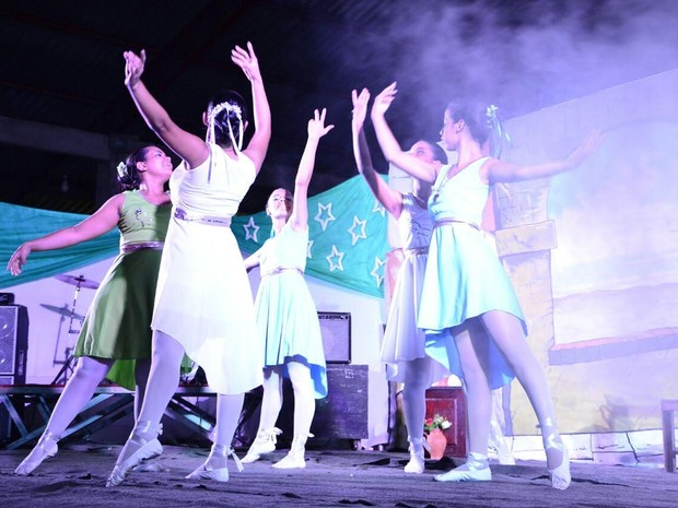 espetáculo, Natal, Jesus Cristo, dança, teatro, Amapá, Macapá (Foto: Divulgação )