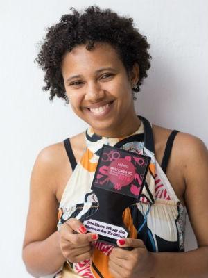 Lu Rosário ganhou prêmio de melhor blog erótico (Foto: Divulgação)