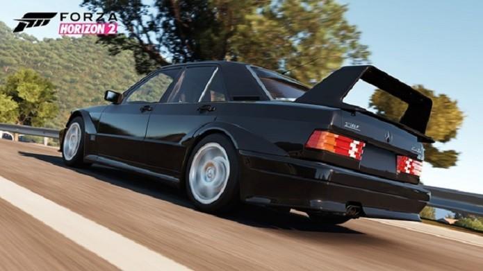 Forza Horizon 2 trará a Mercedes de 1990 que teve cerca de 500 unidades produzidas. (Foto: Divulgação)