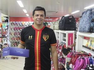 Lucas Oliveira veio de Cristalândia, no extremo Sul do Piauí (Foto: Gustavo Almeida/G1)