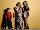 No clima de Dia das Mães, Kelly Key posa com os filhos, Suzanna e Jaime Vitor