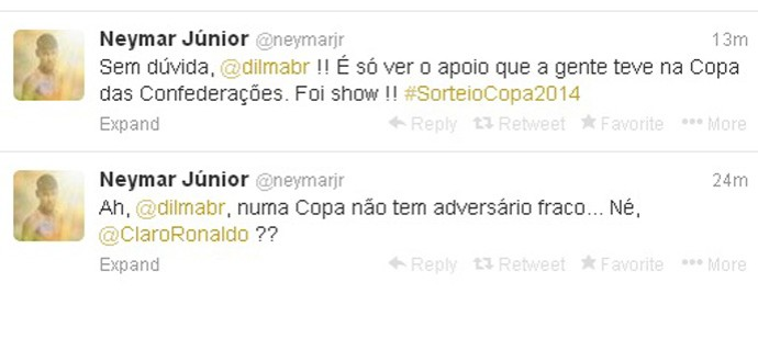 neymar twitter (Foto: Reprodução )