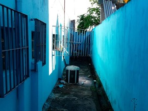Funcionários identificaram arrombamento na manhã desta segunda-feira (Foto: Site Giro em Ipiaú)