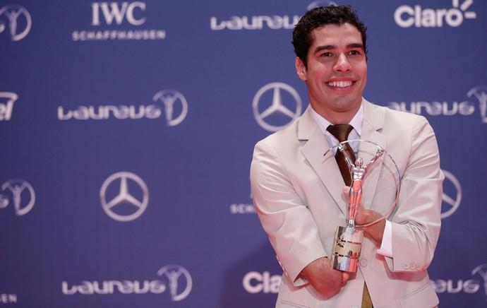 Prêmio Laureus - Daniel Dias (Foto: AP)
