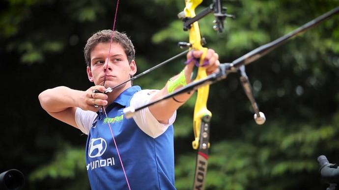 Marcus D'Almeida, do Tiro com Arco (Foto: Divulgação)