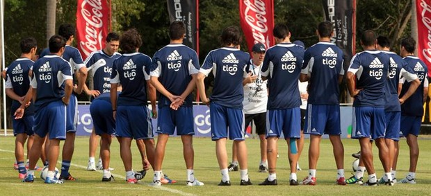 Seleção argentina eliminatórias (Foto: Efe)